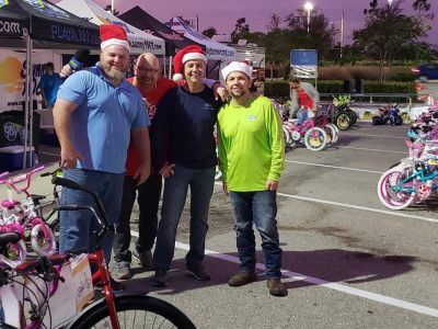 first service holiday bike donations
