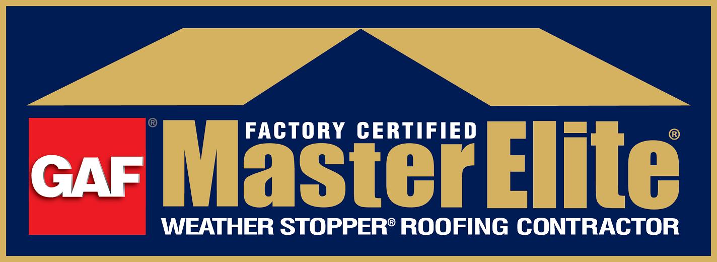 GAF Master Elite Certified Contractor