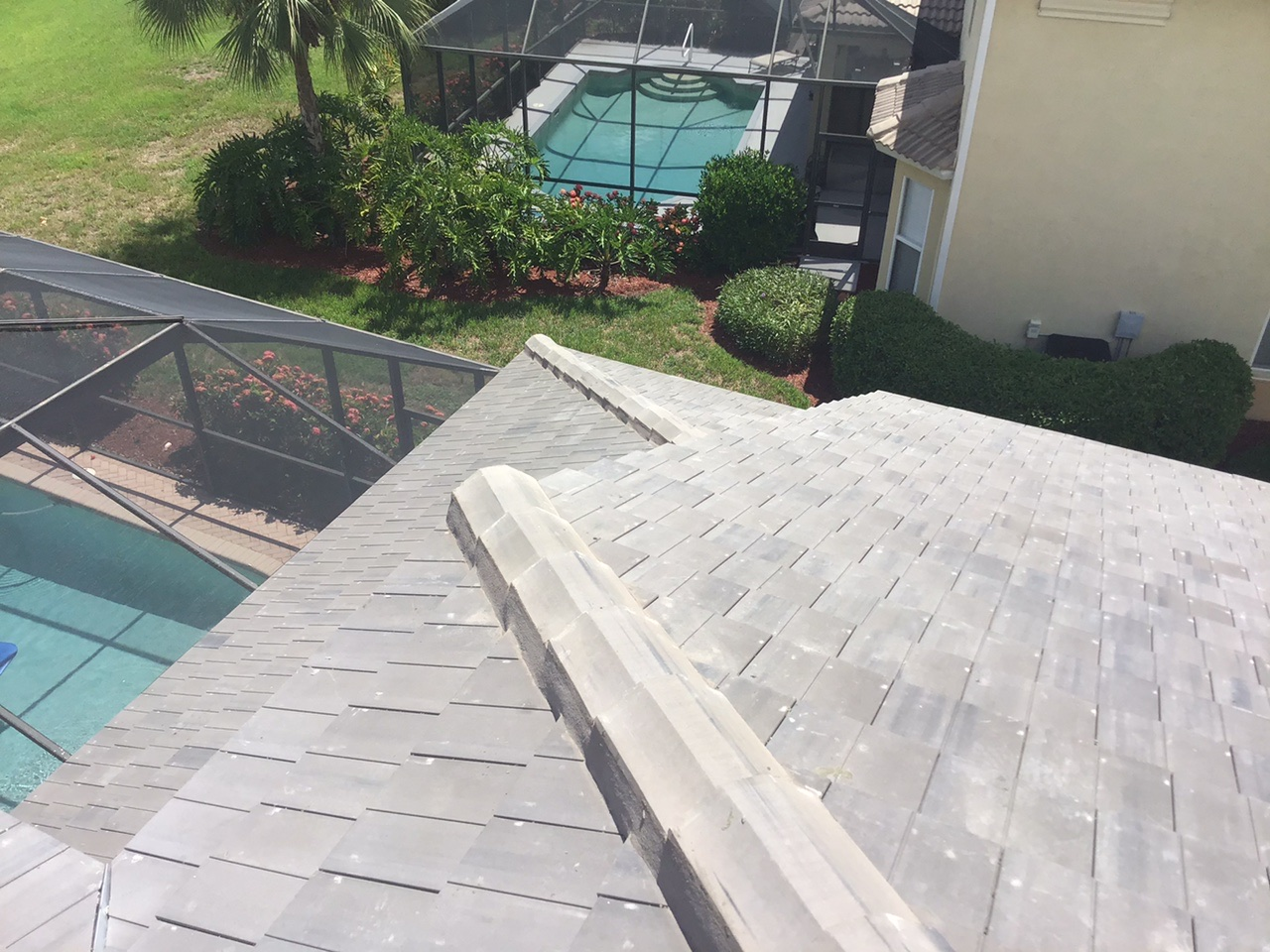 tile roof replacement for a home in estero florida
